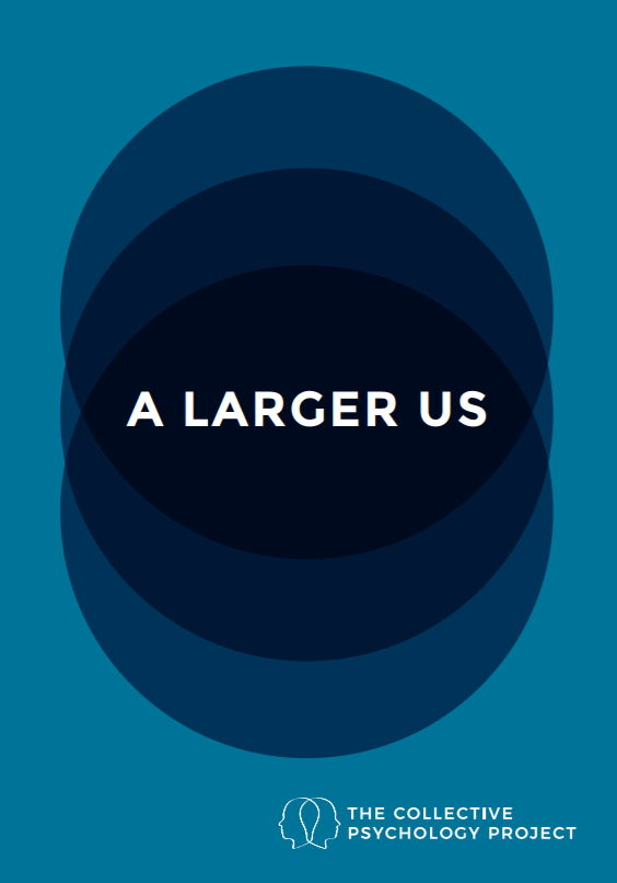 """Front cover of """"a larger us"""""""