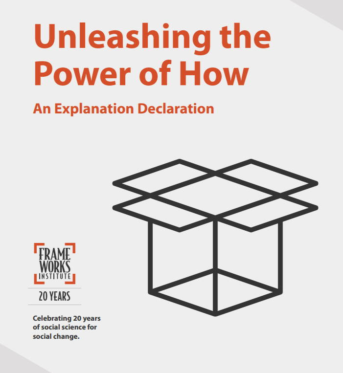 Front cover of 'Unleashing the power of how'