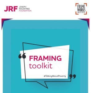 """Front cover of the Framing Toolkit """"talking about poverty"""""""