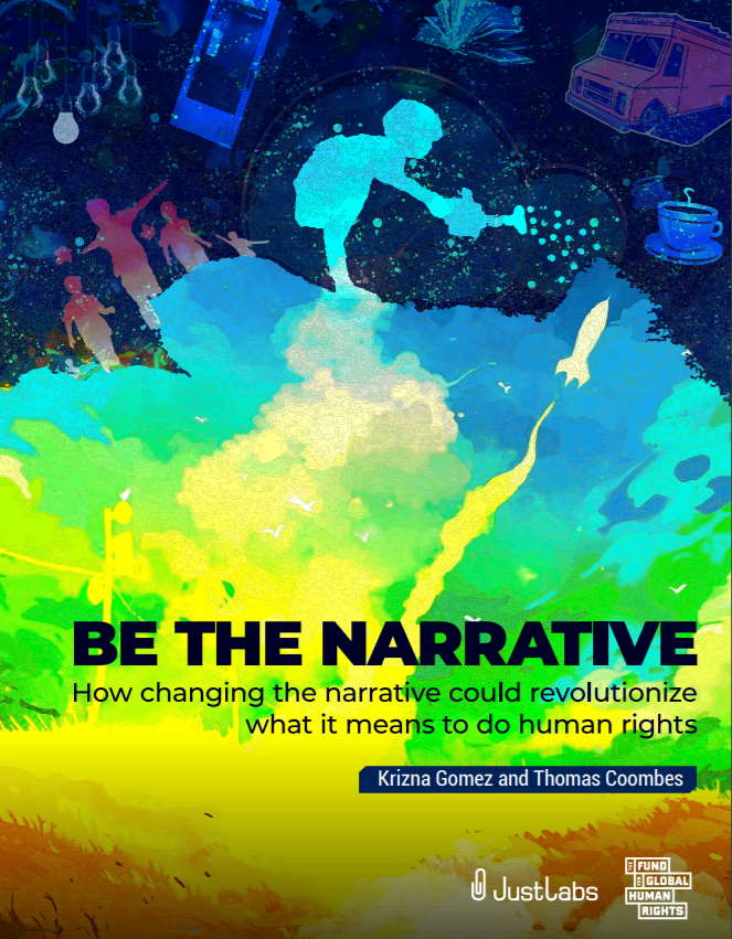 """Front cover of """"Be the Narrative"""""""
