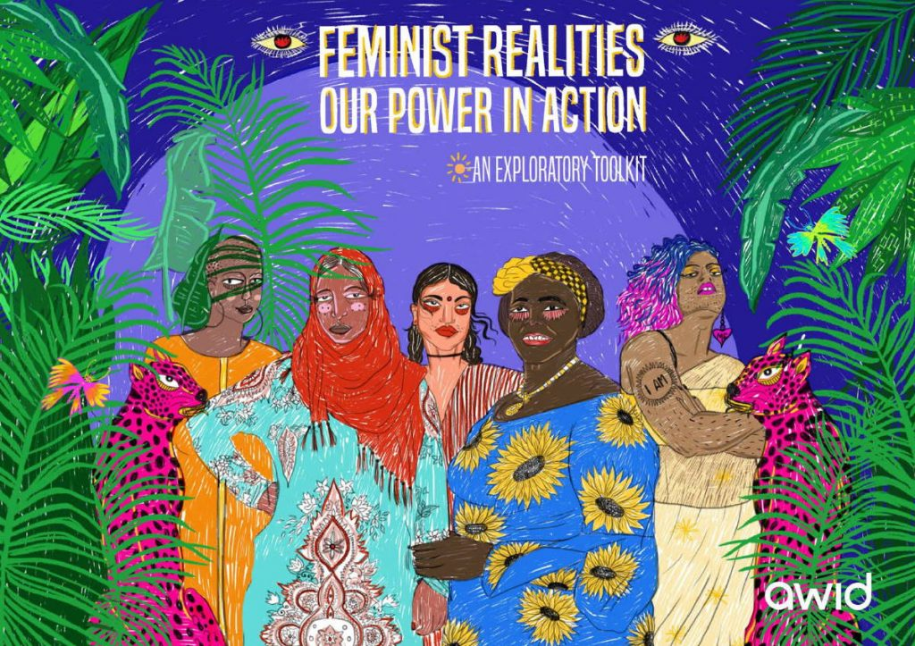 Front cover: feminist realities